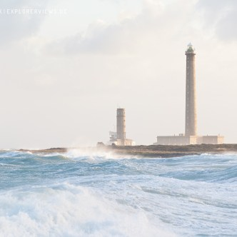 Leuchtturm Gatteville Wellen 0918