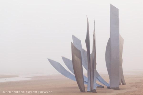 Omaha Beach Statue