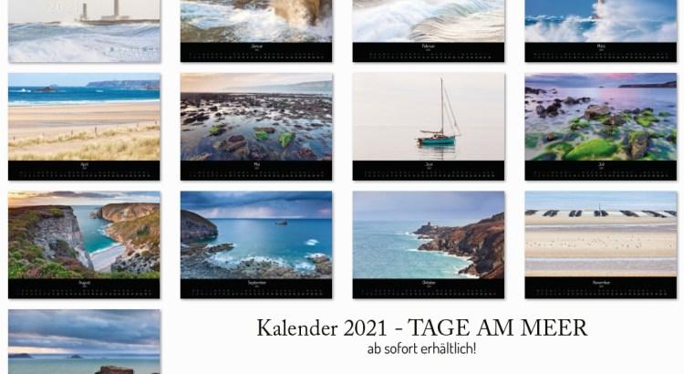 Wandkalender Tage am Meer