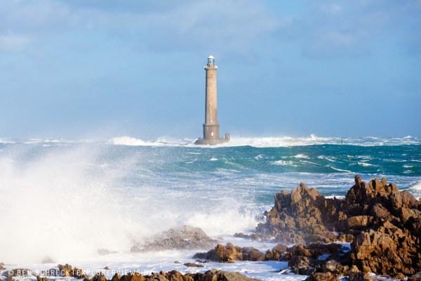 Leuchtturm Normandie Sturm 3736