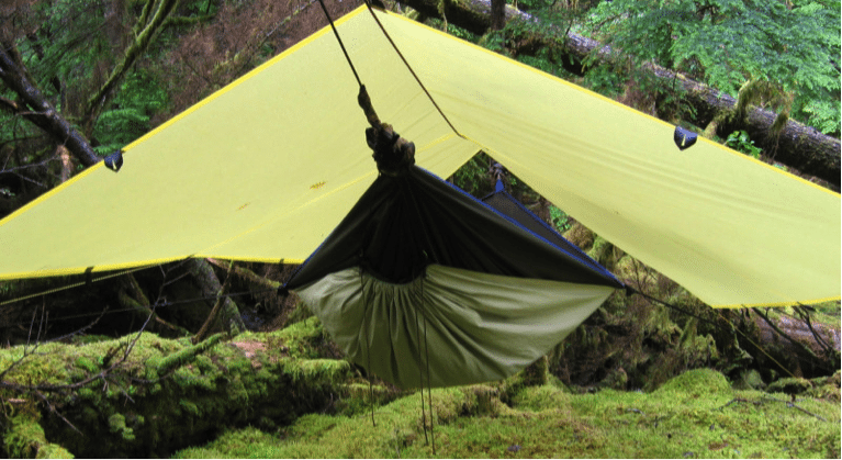 hammock and tarp