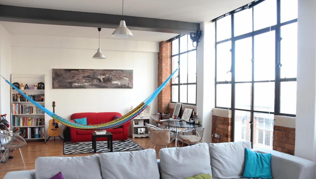 Lovely How To Set Up Indoor Hammock