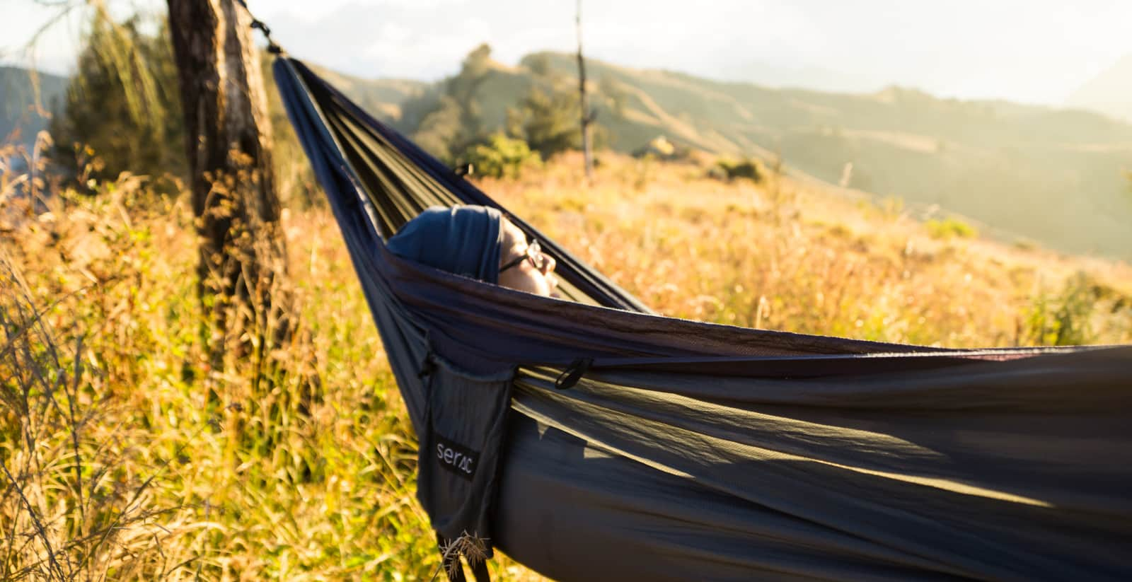 sleeping in a hammock is good for your back