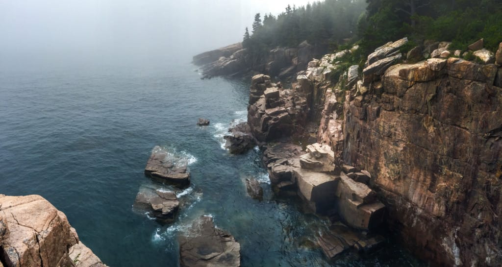 acadia national park - best park to hammock