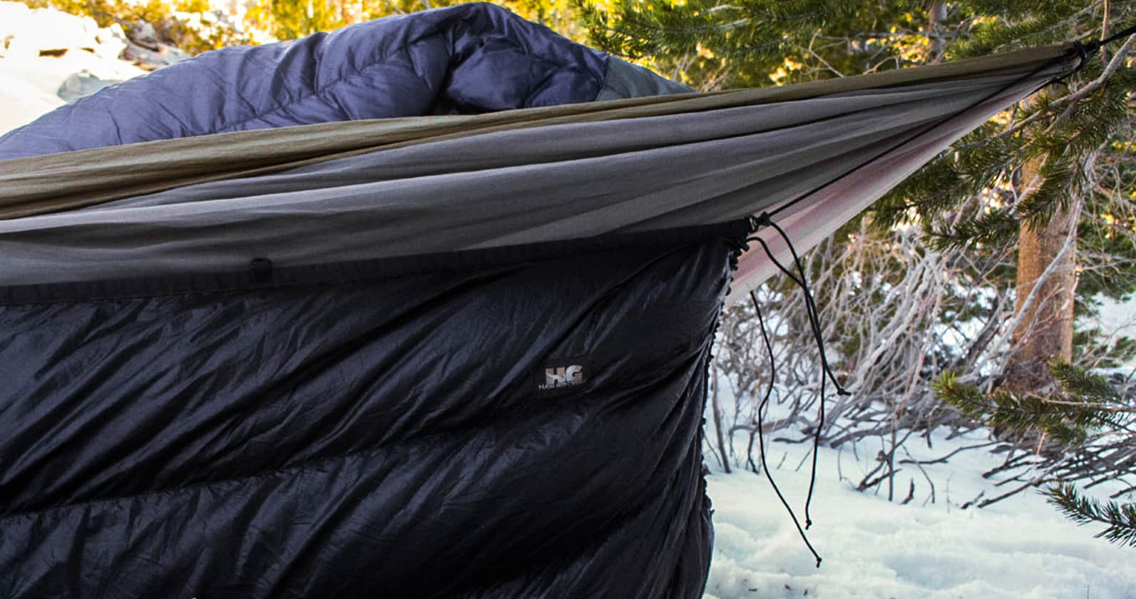camping with a hammock underquilt 4 clever tricks to stay cozy while hammock camping without an      rh   exploreserac