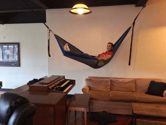 John Ganotis customer review on serac ultralight camping hammock
