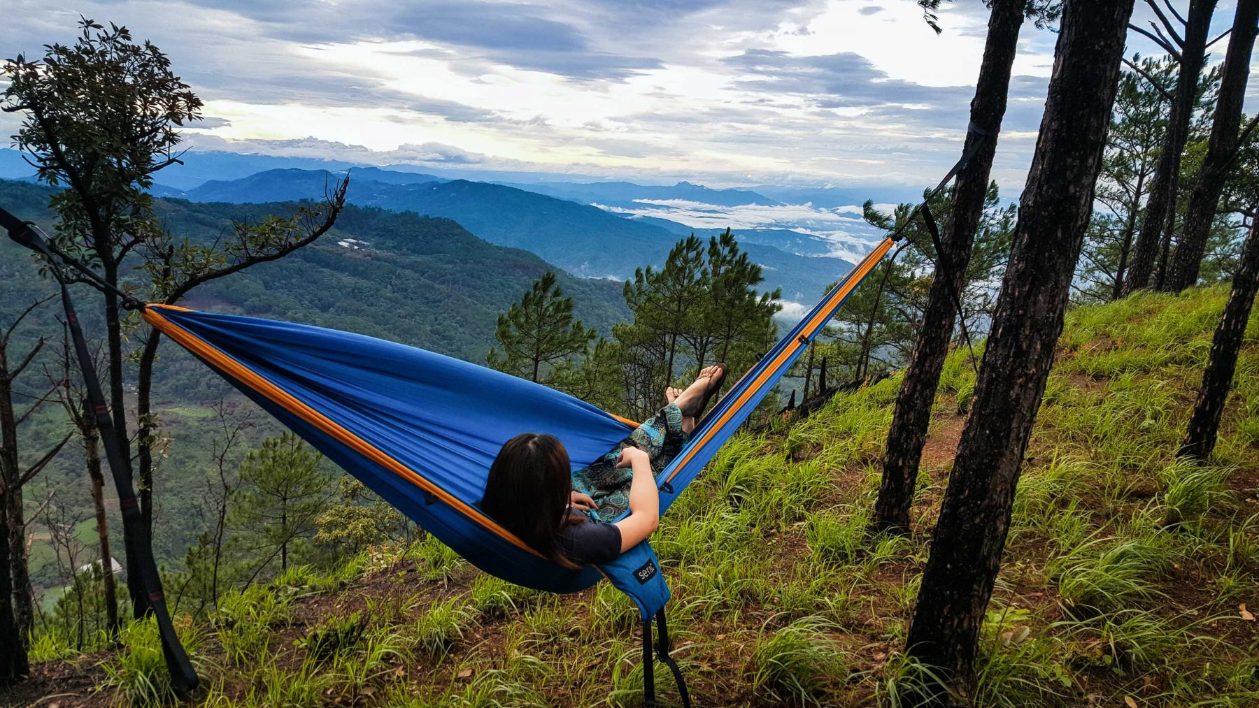 serac sequoia (sunset color) camping hammock