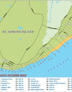 St simons island beach map also beaches east coast guard station rh explorestsimonsisland