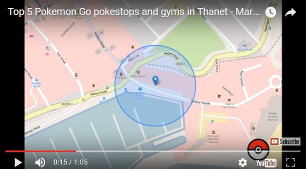 Pokemon Go pokestops and gyms in Thanet - ExploreThanet