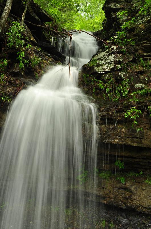 Twin Falls  Devils Den State Park  Explore the Ozarks