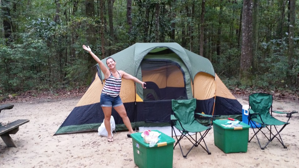 I am excited about putting up our tent quickly and accurately without reading the instructions during our road trip to new orleans