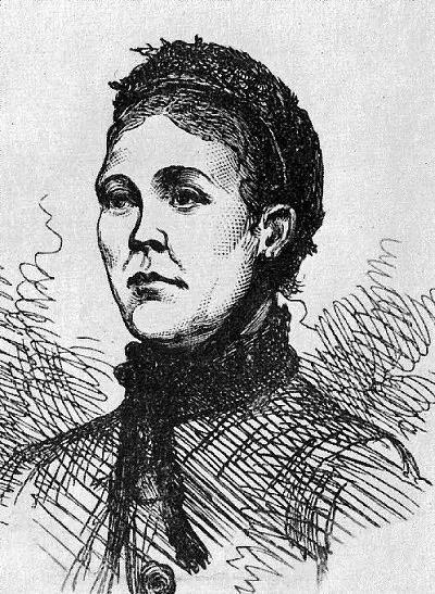 Sketch of Catherine Eddowes, the fourth victim