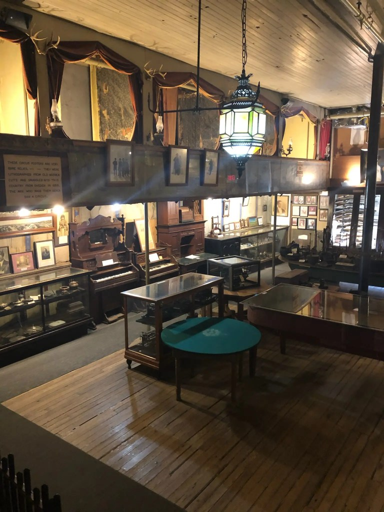 Inside an old saloon in Tombstone, Arizona