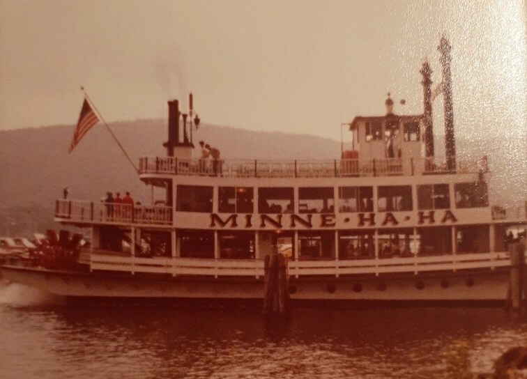 ideal family vacation at Lake George NY aboard the Minnie Ha Ha steam boat