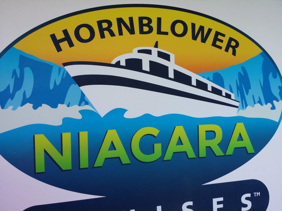 Hornblower boat experience on the Niagara River near hotels Niagara Falls Ontario