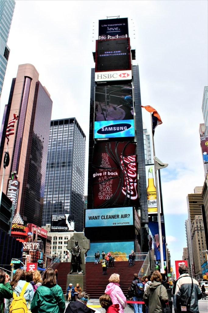 Shows Times Square