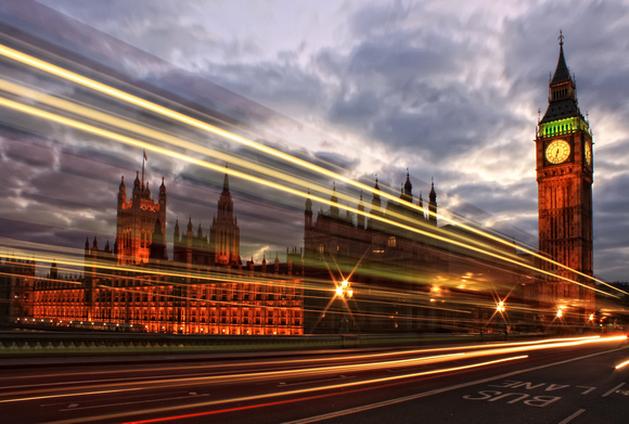 Tutorial on how I did light trails in front of Big Ben