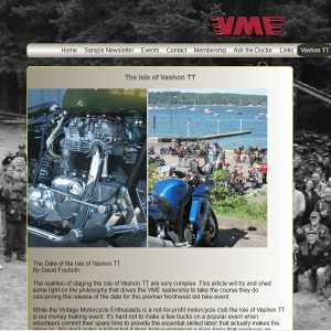 Vashon Island Vintage motorcycle club