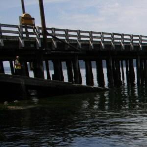 Northend boat launch on Vashon Island Washington