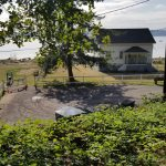 Point Robinson Lighthouse on Vashon Island - lower parking lot