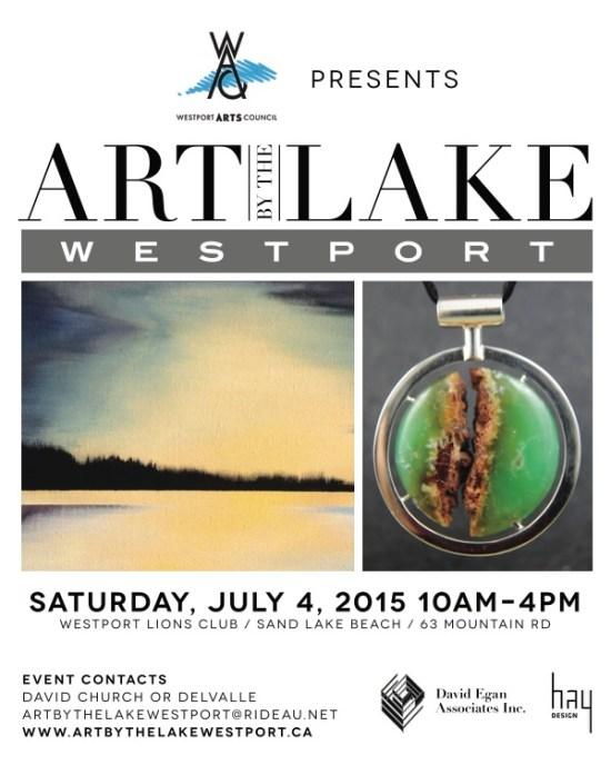 Art by the Lake Westport Ontario
