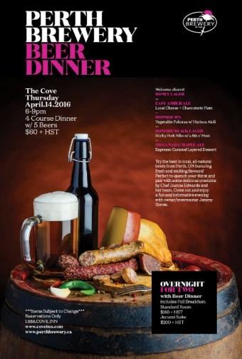 Perth Brewery Beer Dinner