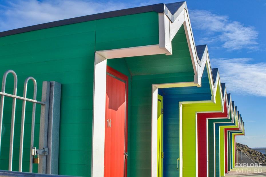 Barry Island's colourful beach houses