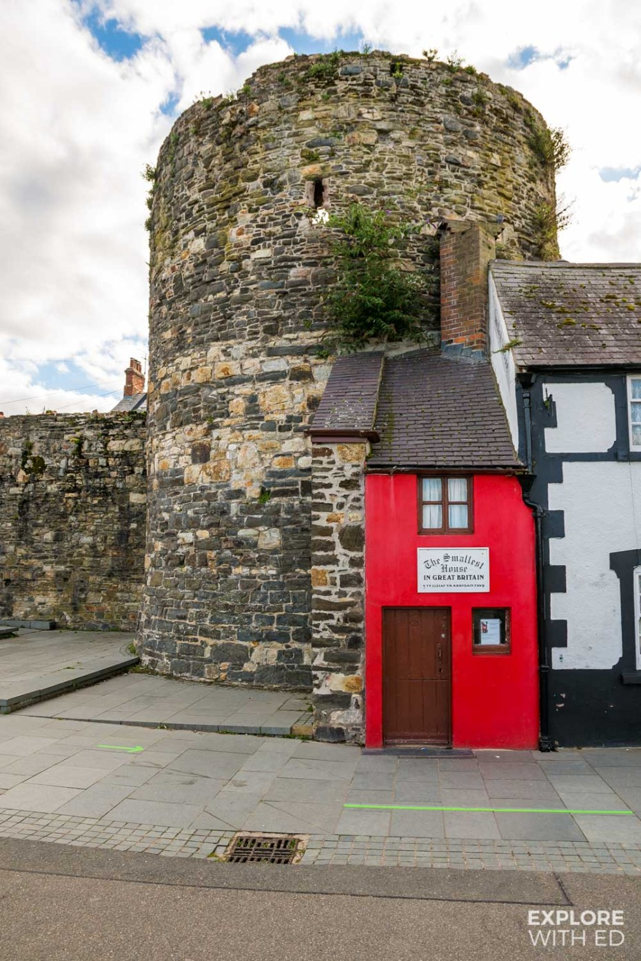 The Smallest House in Great Britain, Conwy