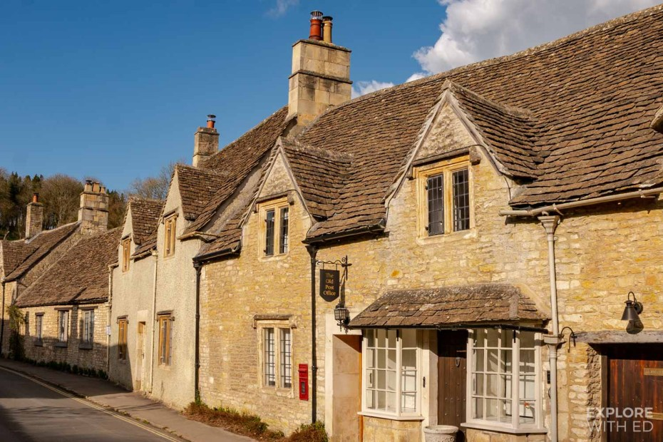 Old Post Office in Castle Combe