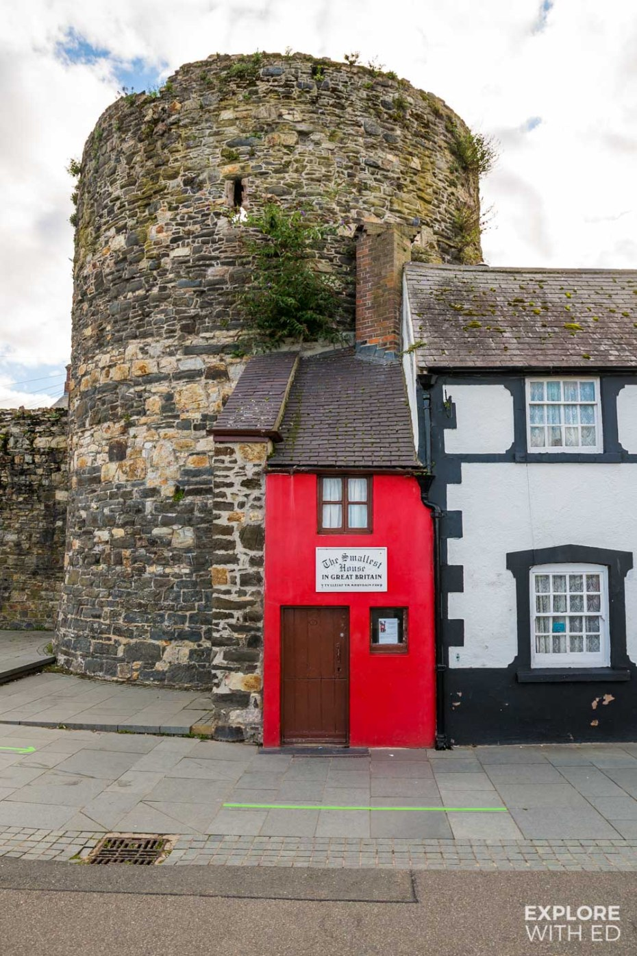 Britain's Smallest House in Conwy