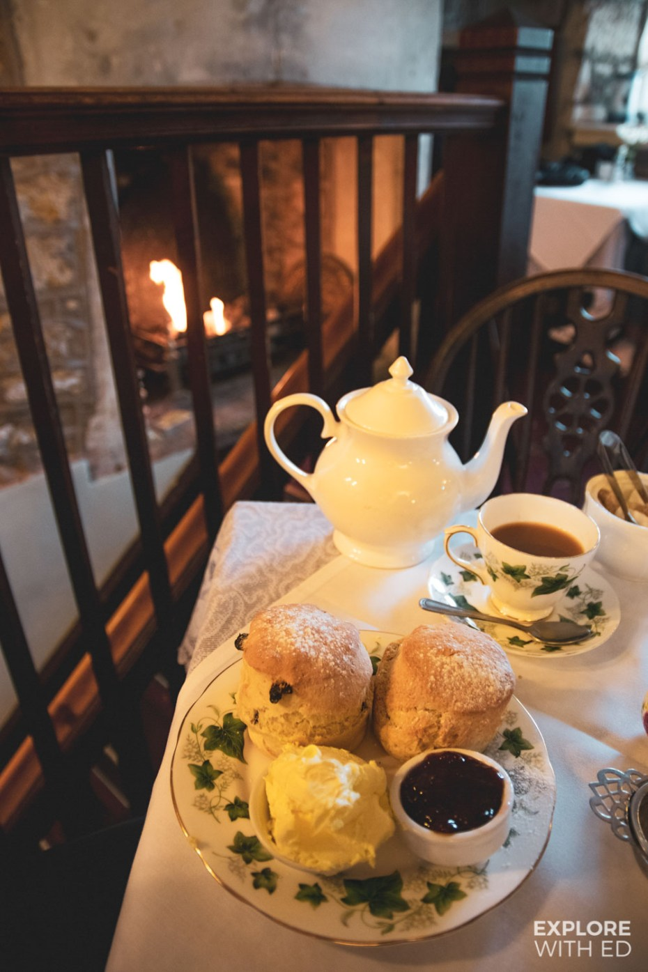 Bradford Bridge Tea Rooms Cream Tea