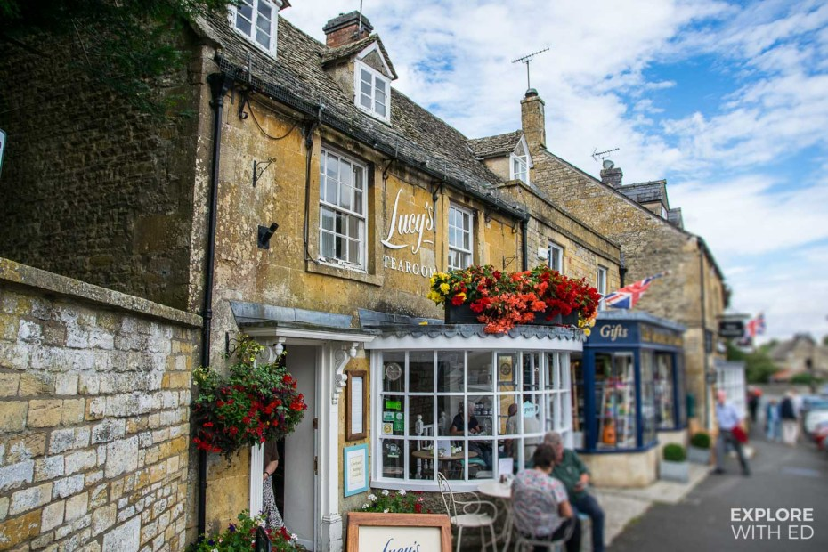 Lucy's Tea Room in Stow-on-the-Wold