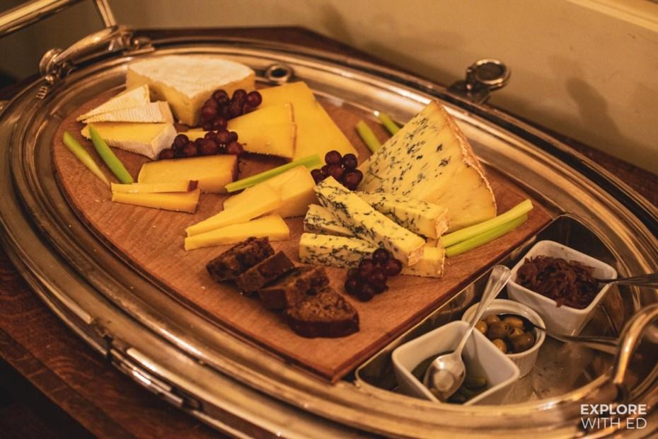 British cheese broad at Nanteos Mansion