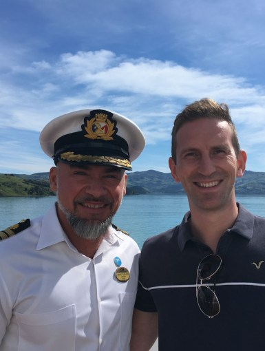 An interview with David Sanders of Princess Cruises, filming 'The Cruise' for ITV