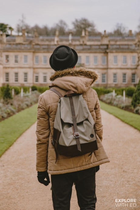 Thorndale's Weston Rucksack in beige (#ad - gifted)