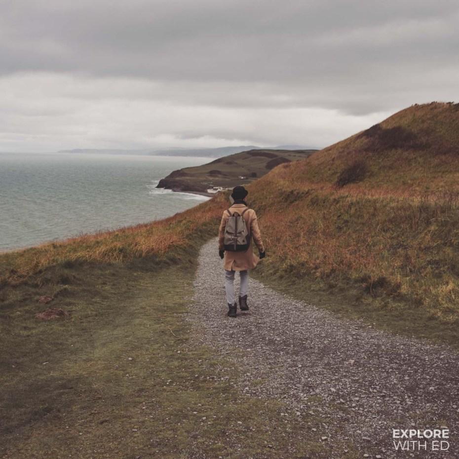 Constitution Hill walk in Aberystwyth, Thorndale Weston Rucksack (#ad - gifted)