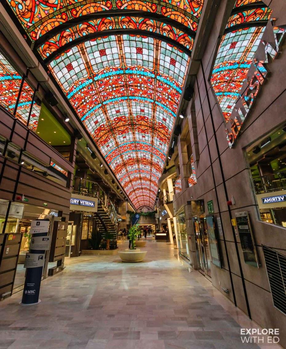 MSC Bellissima ship tour, Galleria