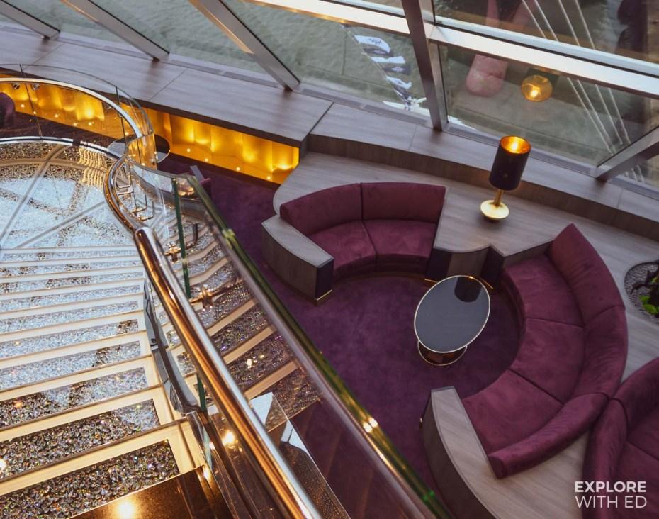 MSC Bellissima Yacht Club lounge area