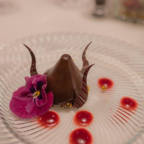 Dessert on MSC Bellissima, Raymond Blanc Gala Dinner
