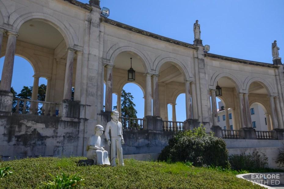 Sanctuary of Fatima children's statue