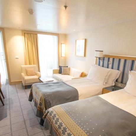 Penthouse Veranda cabin on Viking Cruises [ad]