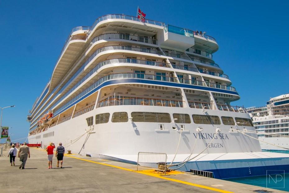 Viking Sea cruise ship
