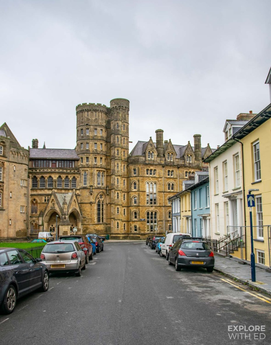 The University town of Aberystwyth, Wales