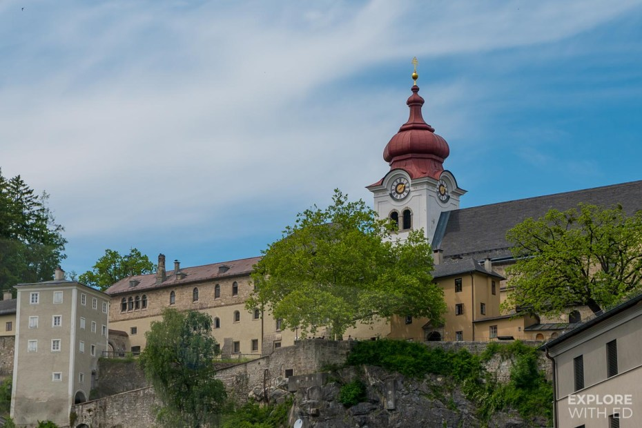 Nonnberg Abbey in Salzburg where Maria was married