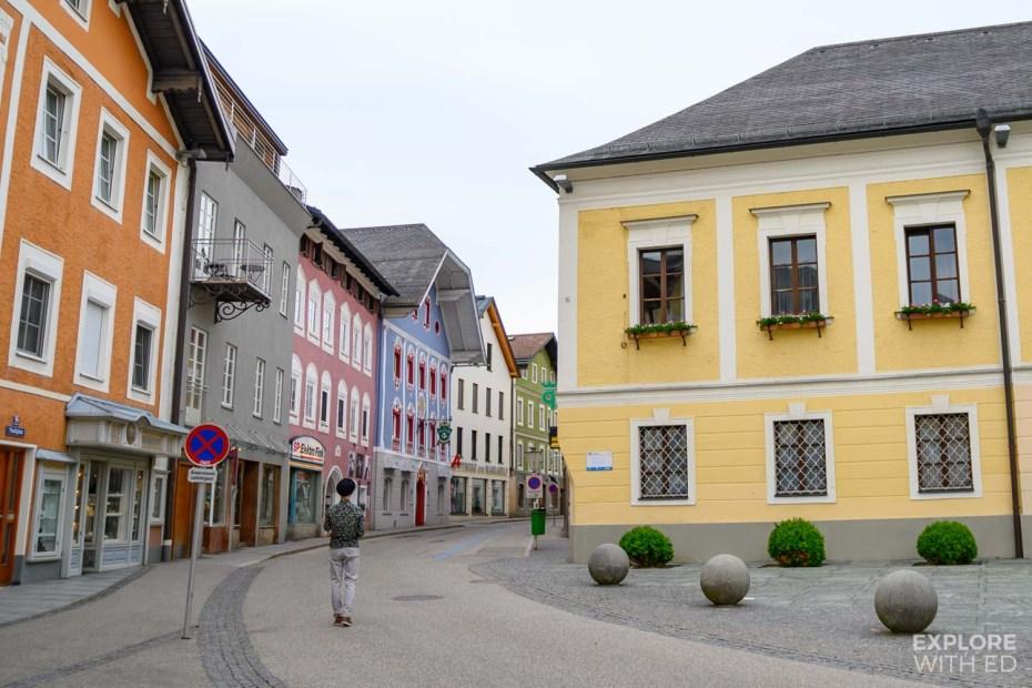 The pretty village of Mondsee, Austria