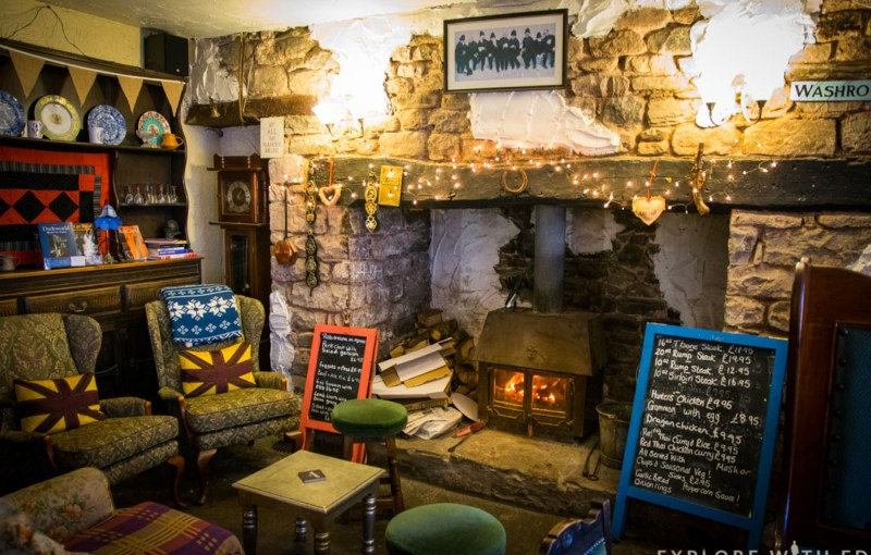 The Waterfall Pub, The New Inn, Brecon Beacons