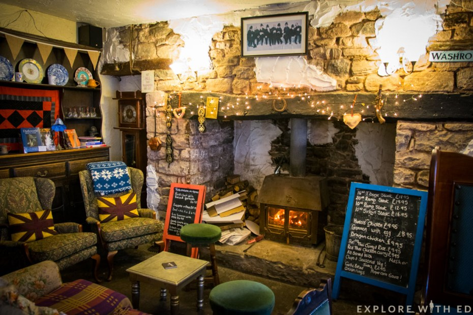 The Waterfall Pub, The New Inn, Brecon Beacons