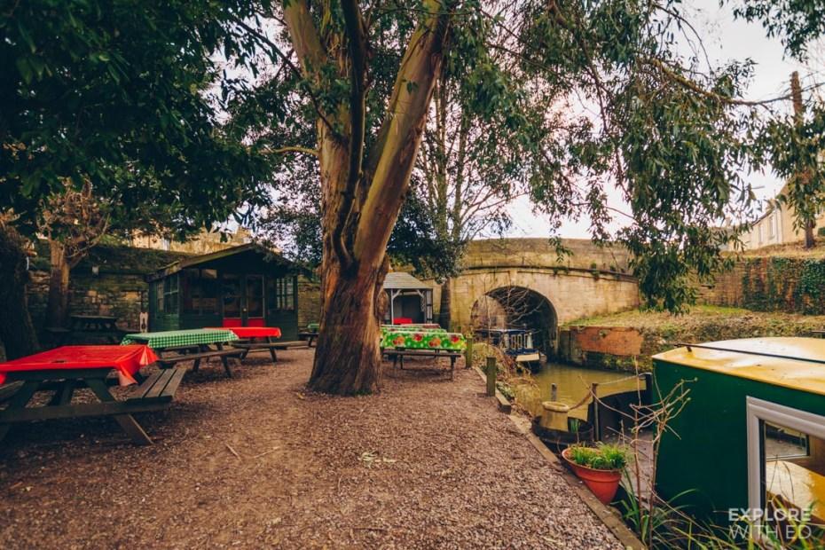 The Lock Inn, canal side dining in Bradford-on-Avon