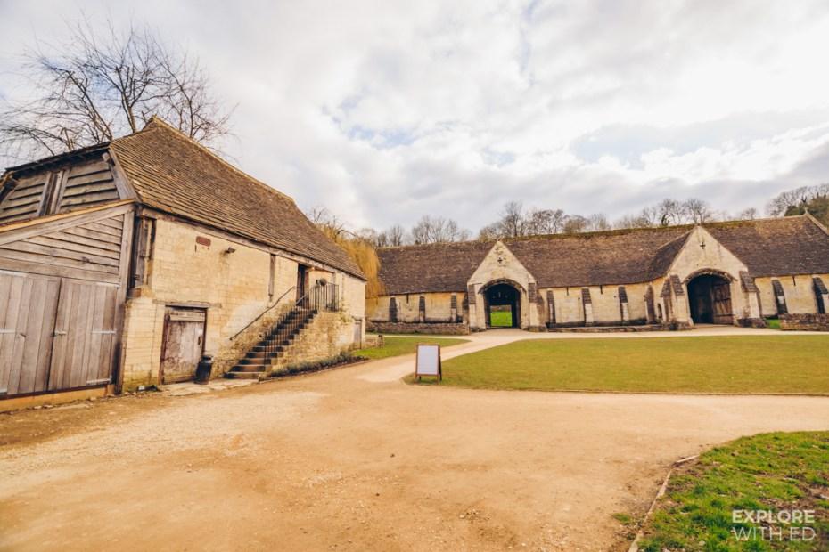 The Tithe Barn and Granary in Bradford-on-Avon