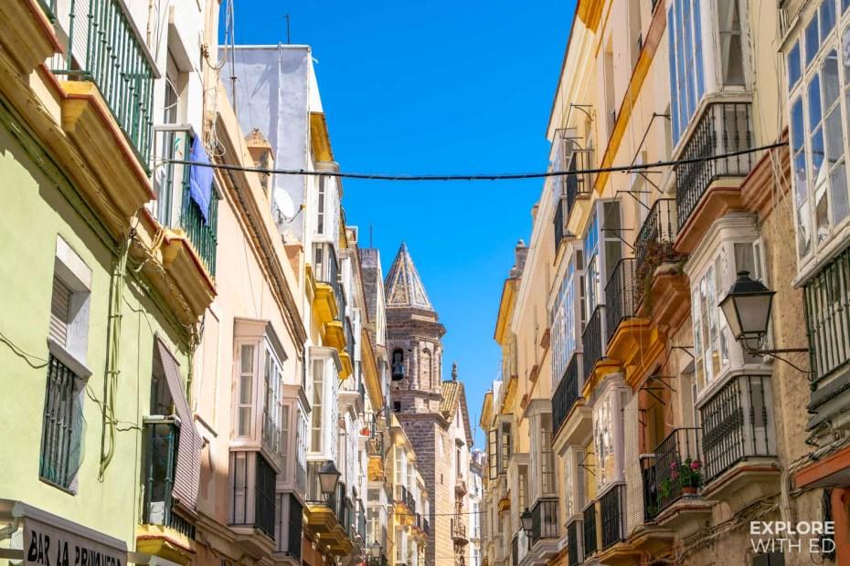 Centre of Cadiz, Spain